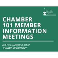 Chamber 101 Informational Meeting