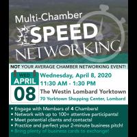 Postponed: Multi Chamber Speed Networking