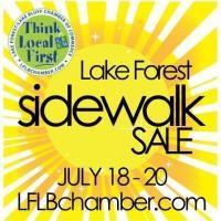 Lake Forest Sidewalk Sale