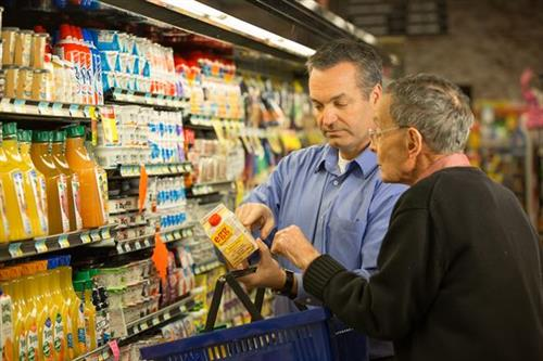 We assist with grocery shopping and running errands.