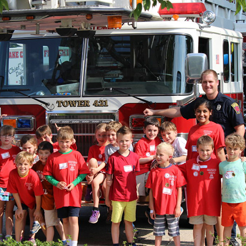 Safety Town - one of many summer camps we offer