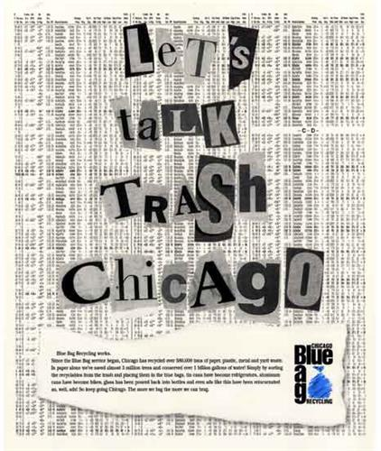 Chicago Blue Bag Recycling