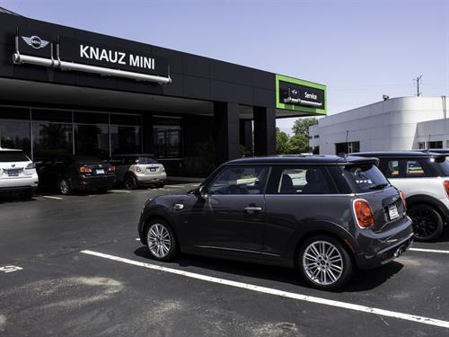 Knauz MINI- Our newly remodeled dealership