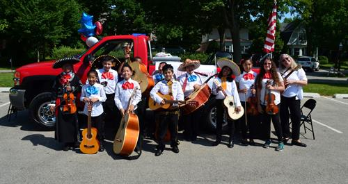 Bravo helps support 5 mariachi band after-school programs in elementary schools throughout Waukegan.