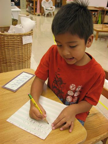 Primary Classroom Writing