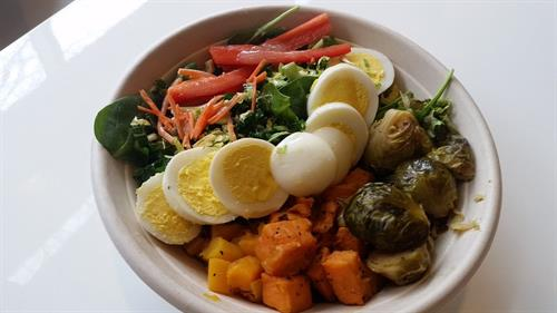 Market Square Salad with Eggs