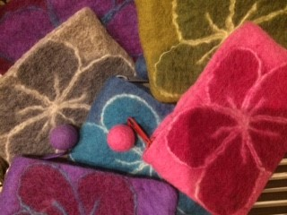 Boiled Wool Coin Purses
