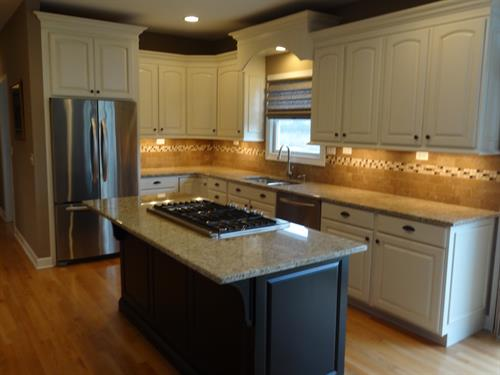Refinished Oak Kitchen