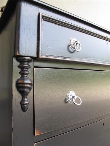 Painted & Distressed Dresser