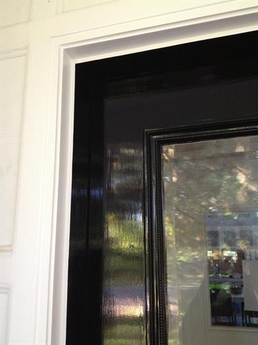 Hand Painted Entry Door