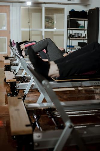 Footwork on the Pilates Reformer