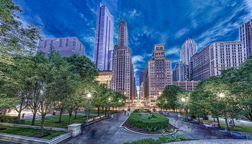 View from Millennium Park