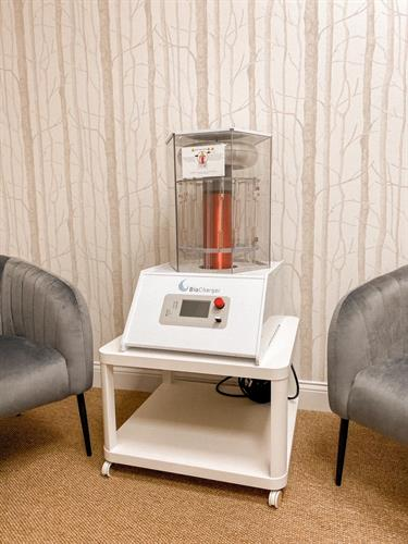 BioCharger and Red Light Therapy Wellness Room