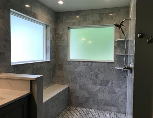 Salem Bathroom Shower and Windows