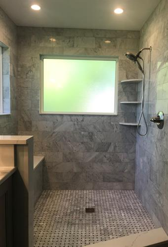 Salem Bathroom Shower Floor