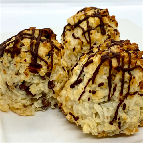 Hungry Monkey Chocolate Chip Coconut Macaroons