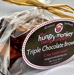 Hungry Monkey's Triple Chocolate Brownies, loved by Howie Mandel