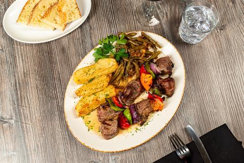 Filet Mignon Souvlakia