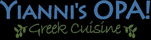 Yianni's Opa Logo