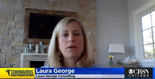 Laura's live segment on CBS 2 Chicago