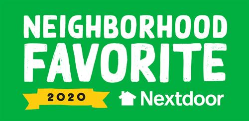 We are honored to be named a Nextdoor Neighborhood Favorite