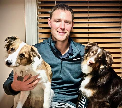 Introducing Jeff Bitter with his puppies