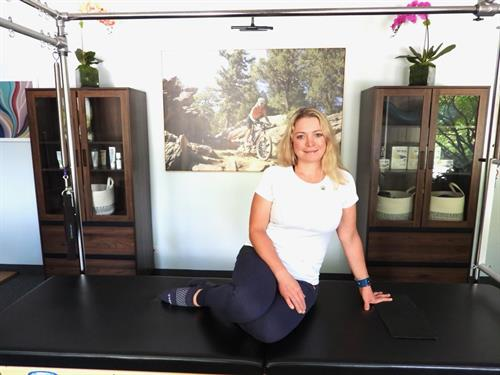Studio Owner Holly Hanzel