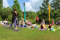 Family Yoga at the Chattahoochee Nature Center