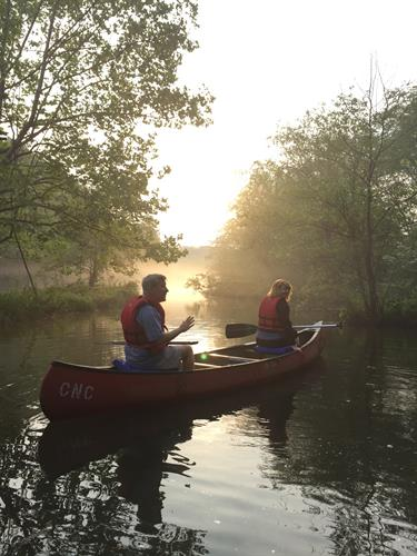 Guided Canoe Trips are offered on the Chattahoochee River