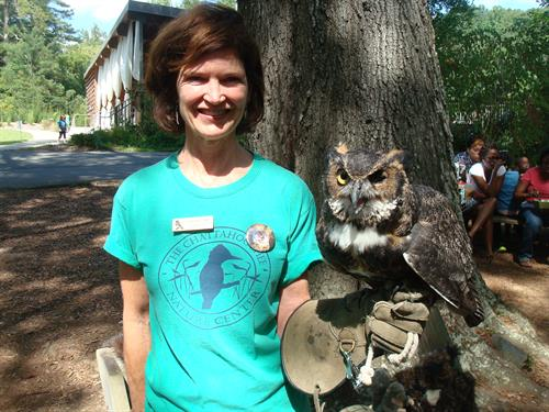 Meet live native rehabilitated native raptors presented by our certified interpretive guides