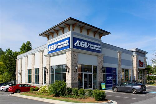 LGE's Alpharetta branch; located at 2855 Old Milton Parkway, Suite 104, Alpharetta, GA 30009.