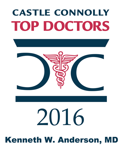 Dr. Anderson was voted a Castle Connolly Top Doctor again in 2016.