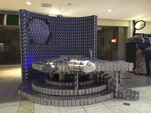 Canstruction 2015 - Best Meal Award Winner