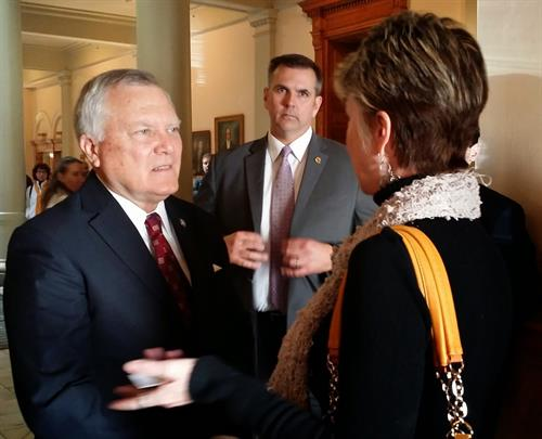 Governor Deal listens to ideas on reform.