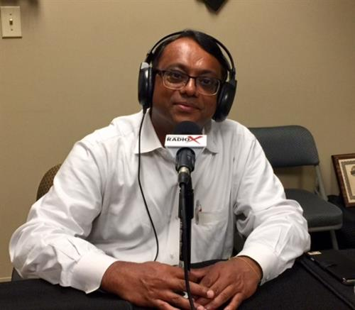 "Neel Majumdar talking about Digital Marketing at Gwinnett BusinessRadioX ""Open for Business"" show"