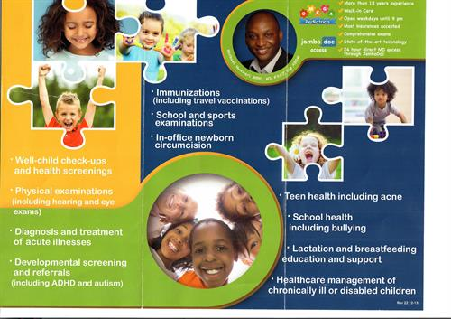 Omega Pediatrics flyer