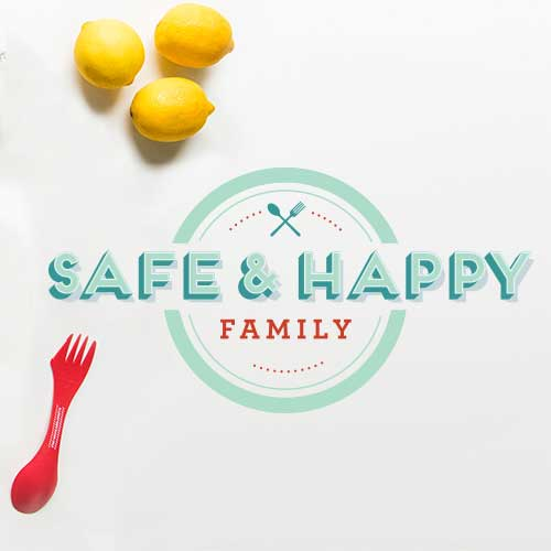 Logo Design for Safe & Happy Family