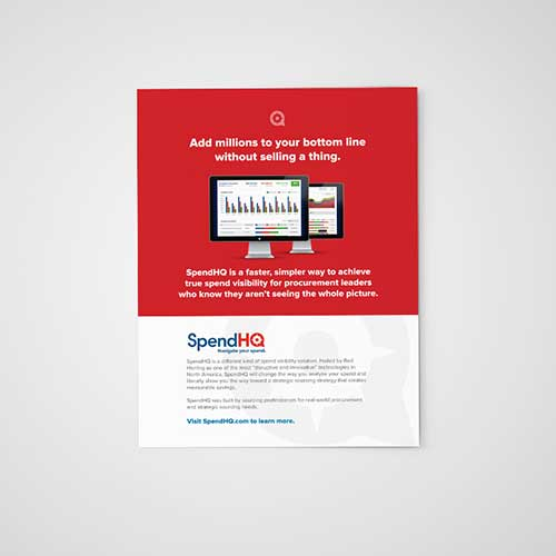 Print Ad for SpendHQ