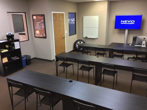 NEVO Driving Academy Classroom