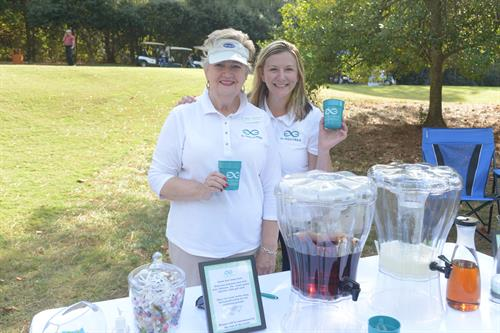 Ashley & Cheryl at the Tee It Up For TechBridge Golf Tournament in 2016!