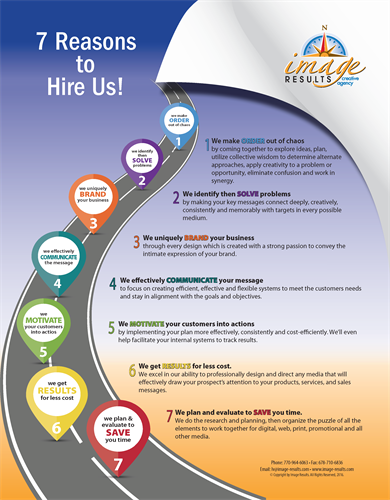 7 Reasons Why You Should Hire Us!