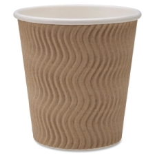 We have break room supplies galore.  This ripple cup is affordable and great looking.  Look for it on your favorite TV show.