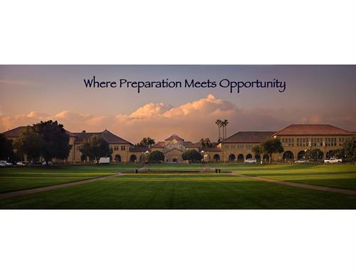 Where Preparation Meets Opportunity
