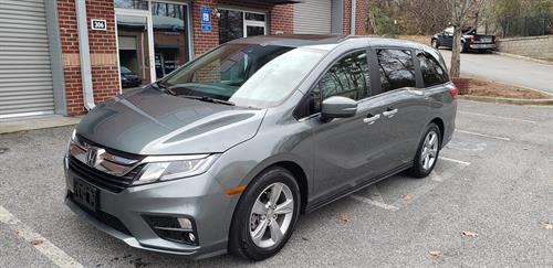 2018 Honda Odyssey EX-L, 10,000 miles