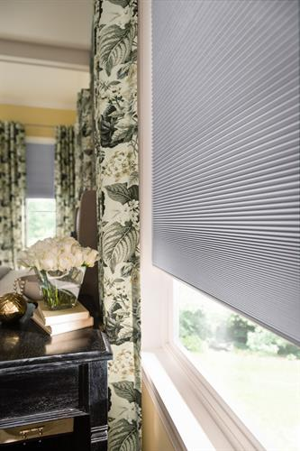 Cellular Shades and Curtains