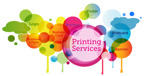 We offer Full Service Printing Services