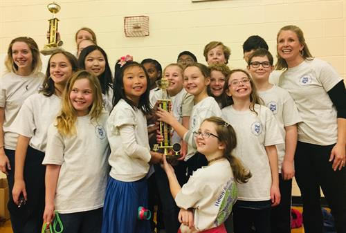 ICSAtlanta's elementary book team brought home two trophies during the Helen Ruffin Reading Bowl in their first year of competition, beating all North Fulton schools.