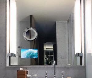 Behind Mirror TV