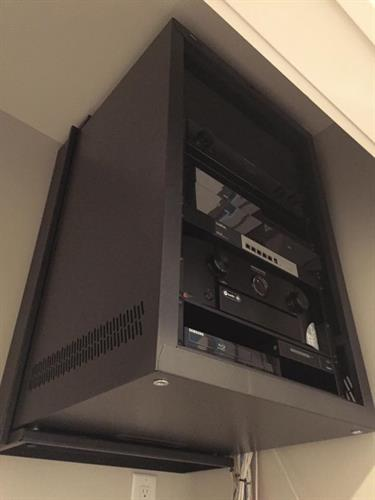 Small AV Rack Residential