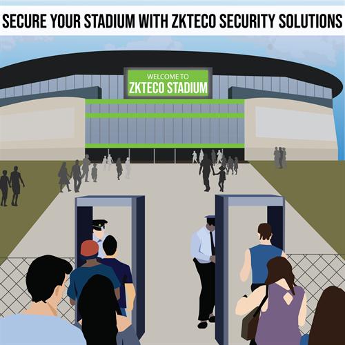 ZKTeco stadium security solutions